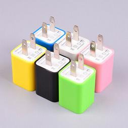 us plug travel wall charger dual port
