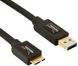 AmazonBasics USB 3.0 Charger Cable - A-Male to Micro-B - 3 F