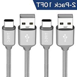 USB Type C Cable ,OneKer USB C to USB A Charger Nylon Braide
