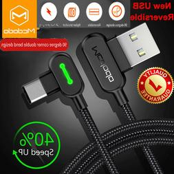MCDODO USB-C Type-C Cable Heavy Duty Charging Syn Charger Sa