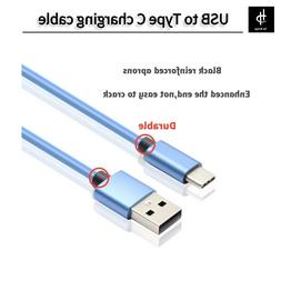 USB-C USB Type C Cable to USB Type A Fast Charger Data Cable
