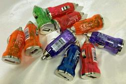 Atomic Micro USB Car Charger  Multi-Colors