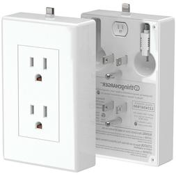 thingCHARGER USB Charger 2x Apple Android Wireless Wall Adap