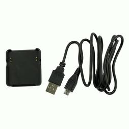 USB Charger Charging Cable Cradle Dock Stand For Garmin Vivo