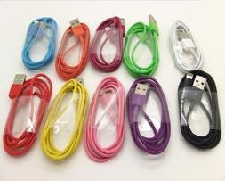 USB Data Sync Charger Cable Cord for iPhone 5 5S 6 6s 7 8 10