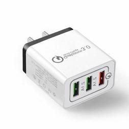 USB Fast Quick wall Charger Adapter  for Android or Smartph
