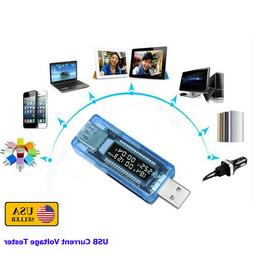 USB Mini Current Voltage Tester Doctor Charger Capacity Powe