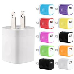 USB Wall Charger AC Home Power Adapter US Plug For iPhone 6