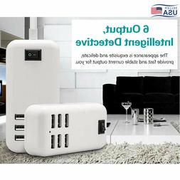 30 Watt USB Wall Home AC Charger Adapter for iPad,iPhone 6,G