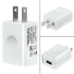 White USB 5V 1A Wall AC DC Home House Charging Charger Wall