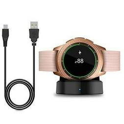 Wireless Charger Dock Station USB For Samsung Galaxy Watch S