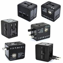 World International Universal Travel USB Charger AC Adapter